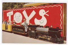 My Life In Postcards: Miniature Railroad Trains