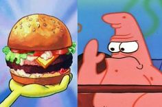 """Build A Burger To Find Out Which """"SpongeBob SquarePants"""" Character You Are"""