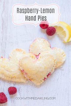 Raspberry-Lemon Hand Pies for Two!