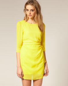 simple but nice yellow #dress