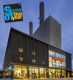 KARE Kraftwerk - Store of the year 2015 Das KARE Kraftwerk ist Store of the year! Wir freuen uns, dass das Kraftwerk damit als das spannendste und innovativste Möbelgeschäft Deutschlands ausgezeichnet wurde! KARE Kraftwerk Is store of the year! Awarded as Germany's most innovative furniture store! #KARE #KAREDesign #KAREKraftwerk #Kraftwerk #KAREMunich #Munich #Furniture #Home #Living #Store #Storeoftheyear #award #power