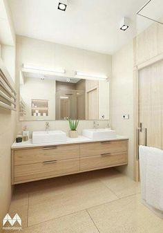 add picture to album Bathroom Renos, Bathroom Renovations, Master Bath Vanity, Washbasin Design, Mid Century Bathroom, Bathroom Design Luxury, Bathroom Inspiration, Interior Design Living Room, House Design