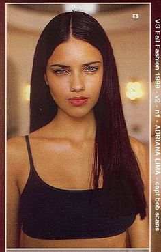 ADRIANA LIMA bombshell-adriana: VS Catalogue 1999 Fall Fashion