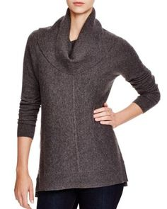 C by Bloomingdale's Cowl Neck Cashmere Sweater | Bloomingdale's