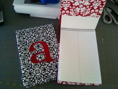Steno Pad Covers. Christmas gifts for coworkers maybe?