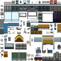 This is created from rpg maker and can only use in rpg maker vx/vx ace and only if you are using a legal version. Some of these tiles are created by Enterbrain and others are created by me, l...