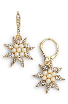 Free shipping and returns on Jenny Packham Star Cluster Drop Earrings at Nordstrom.com. Twinkling crystals and luminous cabochons light up these out-of-this-world, starburst drop earrings.