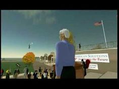 Newt Gingrich on Capitol Hill in Second Life, mentions William Gibson, Metaverses, Extranets and 3-D Internets