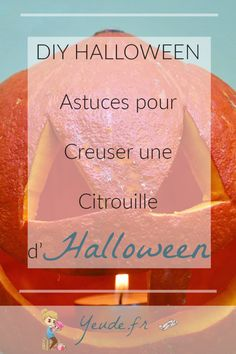 DIY Halloween - Astuces pour creuser une citrouille d'Halloween Diy Halloween, Blog, Fall Decorations, Coin, Thanksgiving, Small Pumpkins, Home Made, Kitchens, Birthday