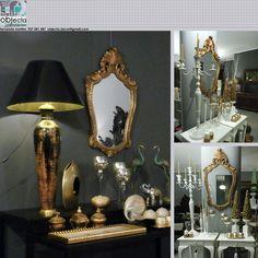 ESPELHO LAPIDADO com moldura estilo D João V, dourado, em madeira maciça....em qualquer divisão e com qualquer estilo de decoração....