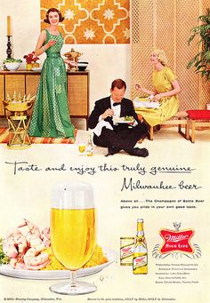 Miller High Life Ad from 1959