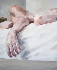 Autorretrato (con brazo) por Addie Precio