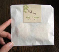 Wax Paper Bag