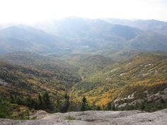 Giant Mountain. Adirondacks, New York  great climbing this, except for sliding down snow on the way down