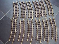 12 LGB 11000 G SCALE BRASS TRACK R1 CURVES (1)