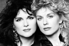 Ann and Nancy Wilson - Heart ♥ - One of my favorite rock bands of all time.