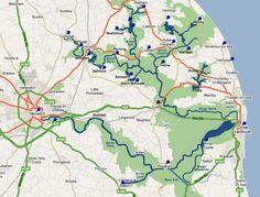 Norfolk Broads Map