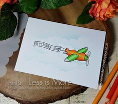Good morning   It's time for a new challenge over at Less is More  and this week it's the turn of our One Layer  challenge. Ok, so it's not...