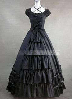 Black Gothic Victorian Style Clothes for Sale : Tidebuy.com