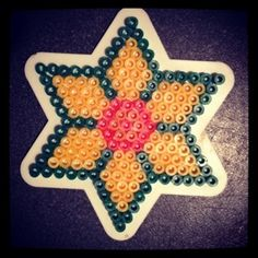 Daffodils in Hama Beads