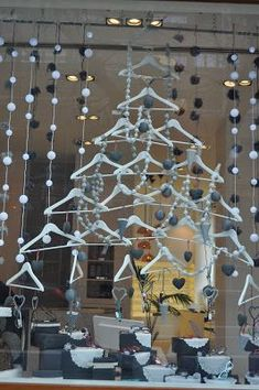 Here is a list of creative Christmas display ideas for inspiration. All these ideas are DIY friendly, so you can make them for your retail business. Visual Merchandising Displays, Visual Display, Winter Window Display, Noel Christmas, Christmas Windows, Cheap Christmas, Christmas Ideas, Christmas Wreaths, Store Window Displays
