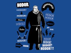 Hodor Famous Quotes