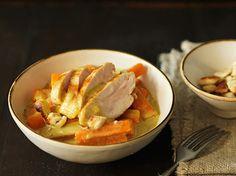 Curry Karotten mit Poulet