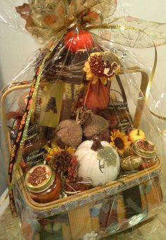 How to: Thanksgiving Gift Baskets   StayGlam                                                                                                                                                      More