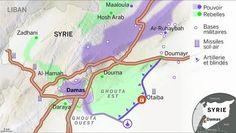 La bataille de Damas.