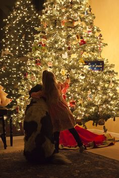 how to take christmas tree pics without flash