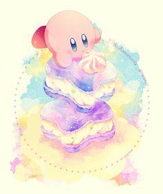 Nintendo Characters, Disney Characters, Kirby Memes, Kawaii Wallpaper, Kawaii Art, Anime Art Girl, Pink Aesthetic, Cute Art, Twitter