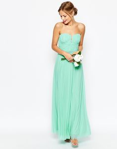 ASOS WEDDING – Ruched Bodice Bandeau Maxi Dress from ASOS (see more in the EAD shop: http://www.elizabethannedesigns.com/blog/product/asos-wedding-ruched-bodice-bandeau-maxi-dress/)