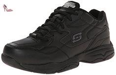 Skechers For Work 76555 Albie ample Walking Shoe - Chaussures skechers (*Partner-Link)
