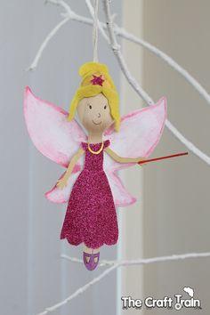 Rainbow Magic fairy spoon doll ornaments
