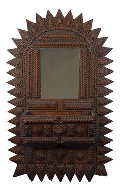 Tramp art mirror ...love it!