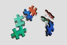 Image of Puzzle Piece Studs