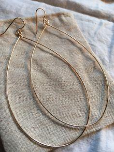 "Hammered 14k Gold Fill 3"" Hoop Earrings by JettieMuller on Etsy https://www.etsy.com/listing/384446396/hammered-14k-gold-fill-3-hoop-earrings"