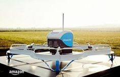 Drone Delivery, Amazon Prime Air's First Customer Delivery, The Future of Shopping, UAV, The Future of Drones