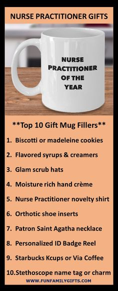 The best gift ideas for a male or female nurse practitioner, registered nurse, nursing school student, or graduating RN; coffee mugs are always a top gift idea.  11 ounces; made from the highest quality ceramic; microwave and dishwasher safe. Printed on both sides for left- or right-handed users; the print will never fade no matter how many times it's washed!  Custom printed, packaged, and shipped in the USA! #NP #nursepractitioner  #nurse #nurselife #nursegift #rn #nursingschool… Top Gifts, Gifts In A Mug, Best Gifts, Unique Christmas Gifts, Christmas Mugs, Nurse Practitioner Gifts, Firefighter Gifts, Organic Sugar, Nurse Life