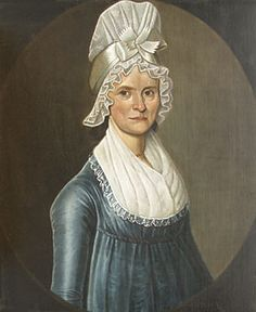 William Jennys (1774–1859), Woman in a Blue Dress, ca. 1800. Oil on canvas, 30 x 25 inches. Private collection.