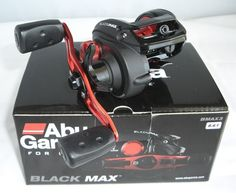 sporting goods: Abu Garcia Black Max 3 Low Profile Baitcast Reel 6:4:1,Right -> BUY IT NOW ONLY: $34.99 on eBay!
