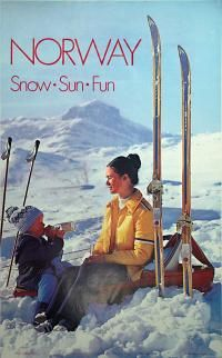 Norway - Snow Sun Fun - 1973 Designer: Photo by A. Husmo