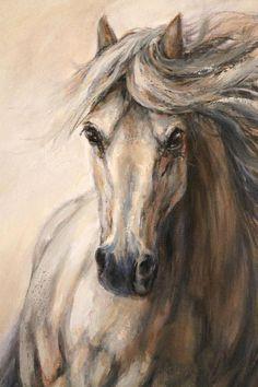 "Original Horse Painting-Original On Canvas-'Gallop III"" - Malerei Horse Canvas Painting, Knife Painting, Horse Galloping, Horse Artwork, Horse Drawings, Equine Art, Horse Pictures, Beautiful Horses, Painting Inspiration"