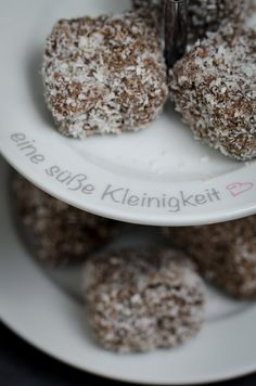 kokoswuerfel-8 Krispie Treats, Rice Krispies, Cereal, Muffin, Cookies, Breakfast, Desserts, Advent, Cl