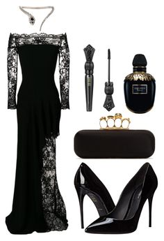 """untitled #9"" by kwharmony on Polyvore featuring Alexander McQueen, Roberto Cavalli and Dolce&Gabbana"