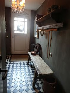 1000 images about hal on pinterest hallways tile and blog for Schilderen voor gang d