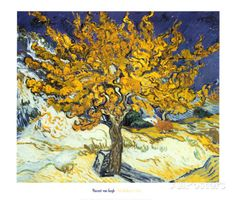 Mulberry Tree, c.1889 Art by Vincent van Gogh - AllPosters.co.uk