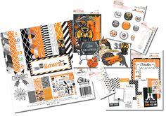 Glitz Design Raven Halloween Kit