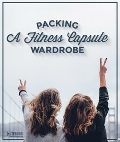 """Do you know how to pack a """"fitness capsule wardrobe""""? Learn how you can get your sweat on while away without packing your entire closet. #PLAYINSPIRED"""
