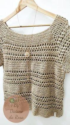 Modern Crochet patterns by MeluCrochet on Etsy Crochet Jumper, Crochet T Shirts, Crochet Cardigan, Crochet Clothes, Diy Crafts Crochet, Easy Crochet, Knit Crochet, Modern Crochet Patterns, Crochet Poncho Patterns